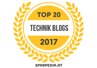 Top 20 Technik Blogs 2017