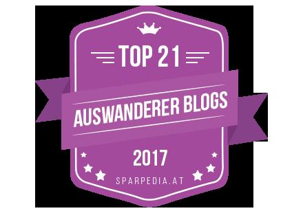 Banner für Top 21 Auswanderer Blogs 2017