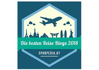 Banner für Die besten Reise Blogs 2018