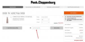 gutscheincode Peek & Cloppenburg Dezember 2019 Dez 2019 (3
