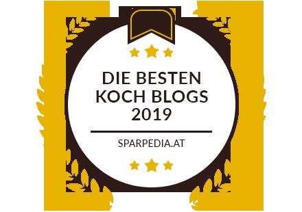 Banner für Die besten Koch Blogs 2019