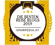 Banner für Die Besten Reise Blogs 2019