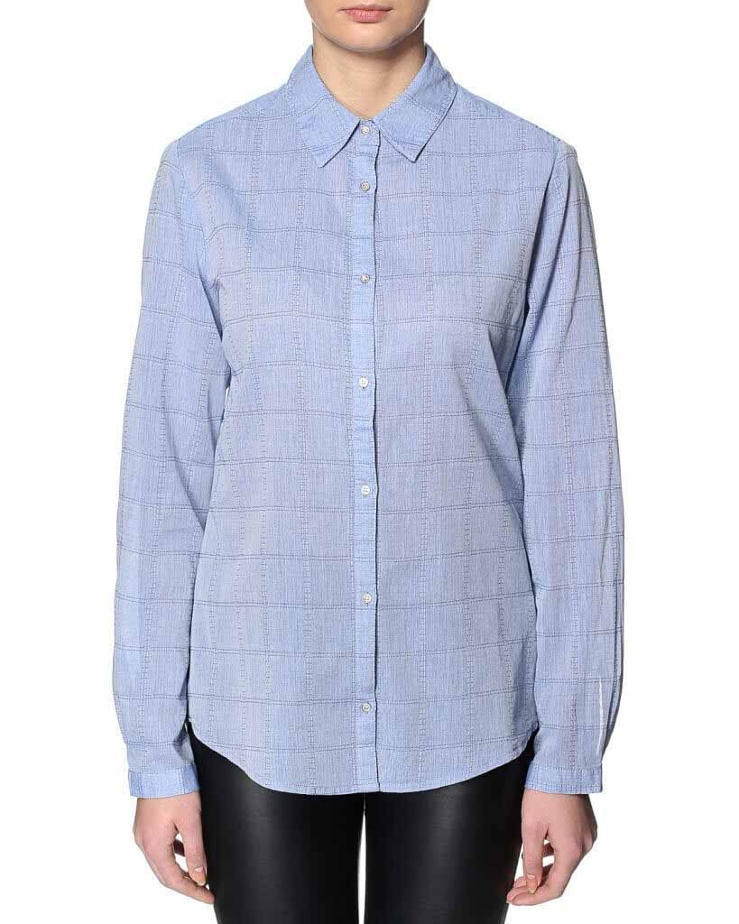Saint Tropez SHIRT WITH DENIM LOO