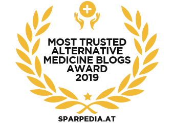 Banners for Most Trusted Alternative Medicine Blogs Award 2019