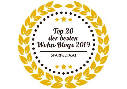 Banners for Top 20 Wohn-Blogs 2019