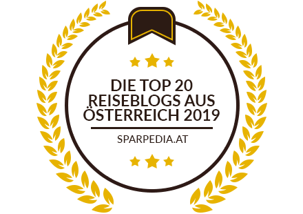 Banners for Die Top 20 Reiseblogs aus Österreich 2019