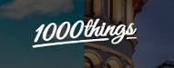 Banner für Die einflussreichsten Blogger Österreichs 1000things.at